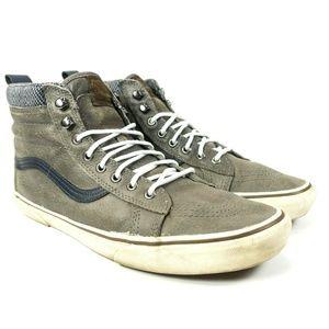 Vans Sk8 Hi Leather Skate Shoes